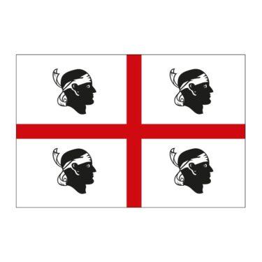 デザインがミステリアスなサルデーニャの旗。どうしてこのデザインになった?