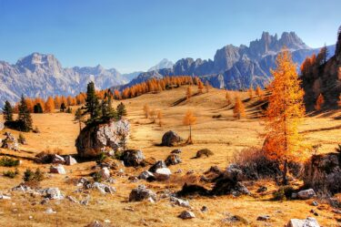 イタリアで一度行ってみたいところ アルプス山脈ドロミーティ!