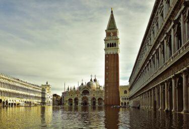 これでヴェネツィアは高潮でも大丈夫? モーゼがヴェネツィアを救うか?