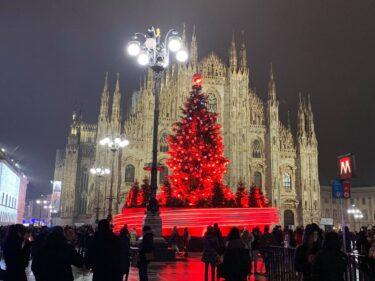 コロナで寂しいミラノのクリスマス前