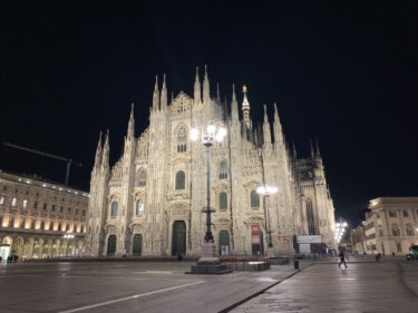 ミラノでは地震が起こる?ミラノは危ない?