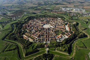 星の形をした要塞軍事都市パルマノーヴァ イタリア東北部ユネスコ世界遺産