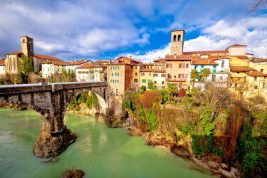 スロベーニアのすぐ近く、イタリアで46番目に世界遺産登録のチヴィダーレ・デル・フリウリ