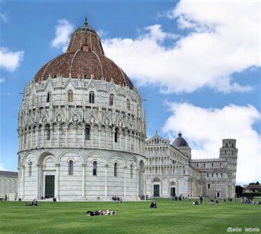 世界遺産登録、ピサの「奇跡の広場」