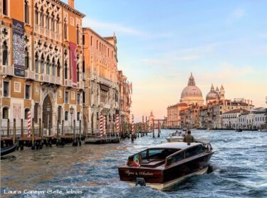 魚の形をしているヴェネツィア