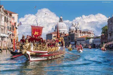 生きているうちに必ず一度は見てみたいヴェネツィアの一大イべント レガータ・ストリカ!